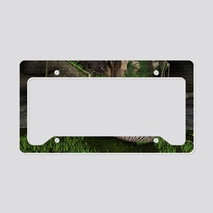 Mothers Close Watch License Plate Holder