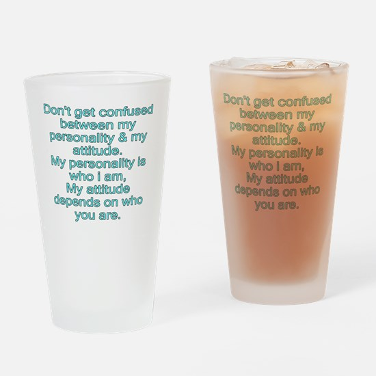 confused Drinking Glass