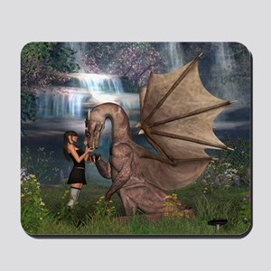 Dragon Love Mousepad