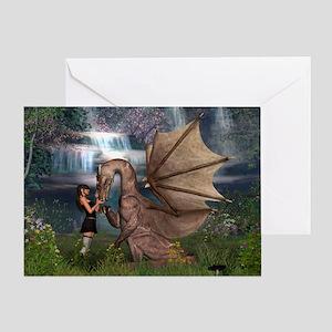 Dragon Love Greeting Card