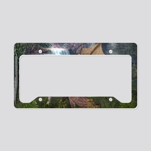 Dragon Love License Plate Holder