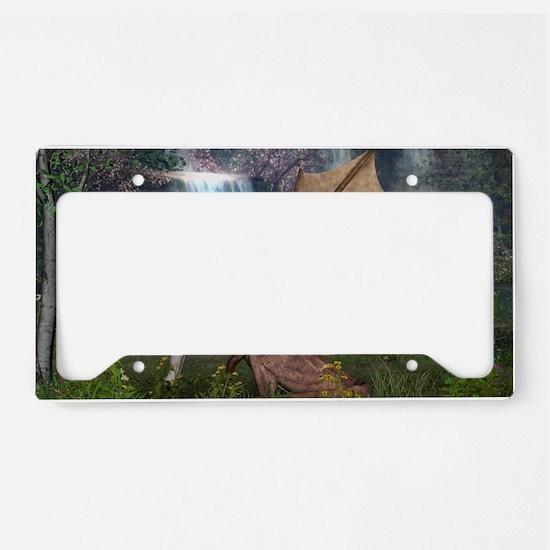 Dragon Love License Plate Holder