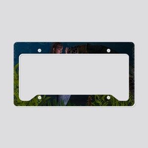 Aquatic Touch License Plate Holder