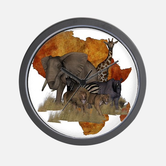 Safari Wall Clock
