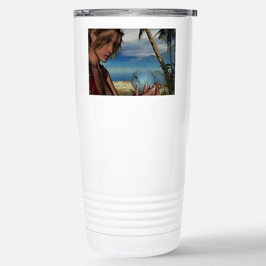 Holding Fantasies Stainless Steel Travel Mug