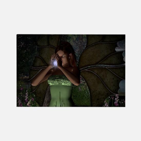 Fairy Spell Rectangle Magnet
