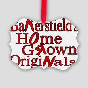 Home Grown Picture Ornament