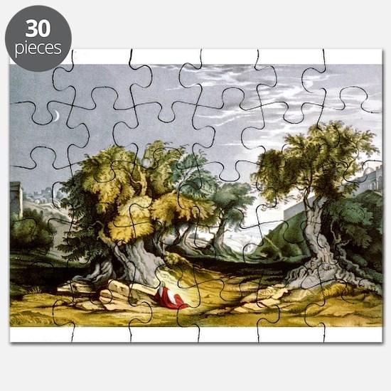 The garden of Gethsemane - 1846 Puzzle