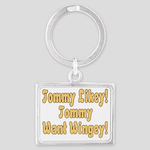 Tommy Likey Landscape Keychain