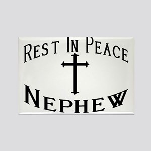 RIP Nephew Rectangle Magnet
