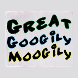 Googily Moogily Throw Blanket