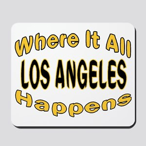 It All Happens Mousepad