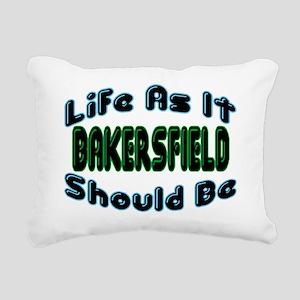 Life As It Should Be Rectangular Canvas Pillow
