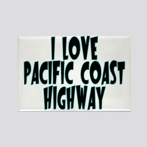 Pacific Coast Highway Rectangle Magnet