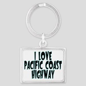Pacific Coast Highway Landscape Keychain