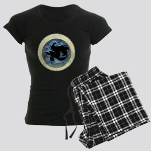 Witch In Moon Women's Dark Pajamas