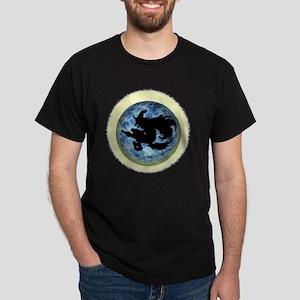 Witch In Moon Dark T-Shirt
