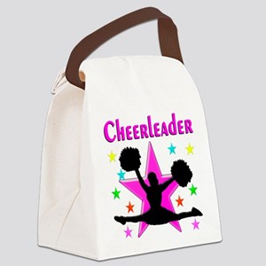 TOP CHEERLEADER Canvas Lunch Bag