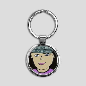 4-Joe Plumber Round Keychain