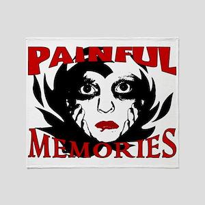 2-Painful Memories Throw Blanket