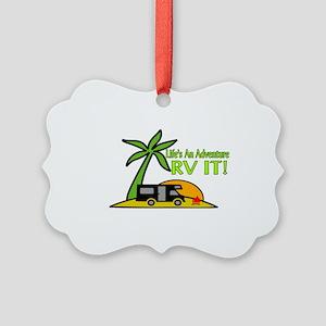 RV Adventure New Picture Ornament