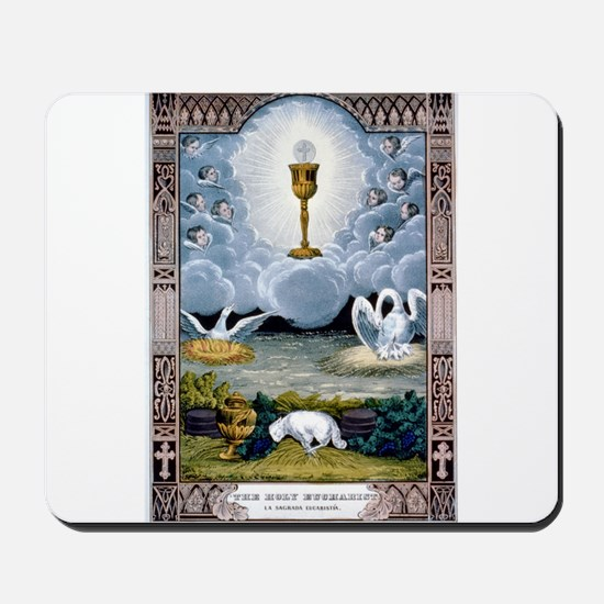 The holy eucharist - 1848 Mousepad