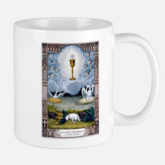 The holy eucharist - 1848 Mug