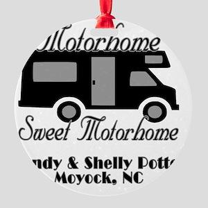 Custom Motorhome Sweet Motorhome Round Ornament
