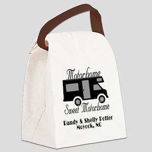 Custom Motorhome Sweet Motorhome Canvas Lunch Bag