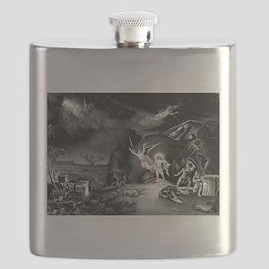 The resurrection - 1849 Flask