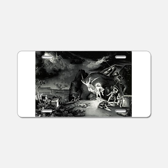 The resurrection - 1849 Aluminum License Plate