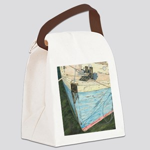 #16 Mouse Pad Canvas Lunch Bag