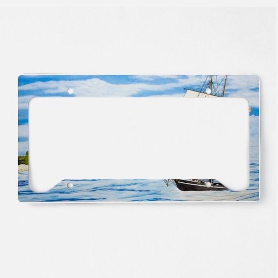 #59 Laptop License Plate Holder