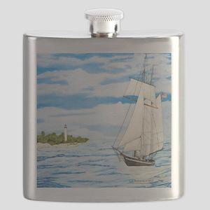 #59 square Flask