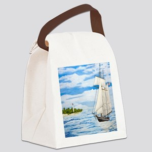 #59 square Canvas Lunch Bag