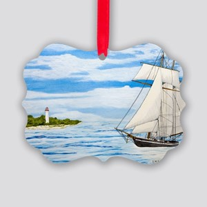#59 11x17 Picture Ornament
