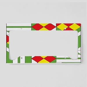 Quilt Design V-149 Laptop License Plate Holder