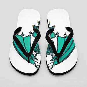 Gargoyle Flip Flops
