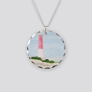 #8 square Necklace Circle Charm