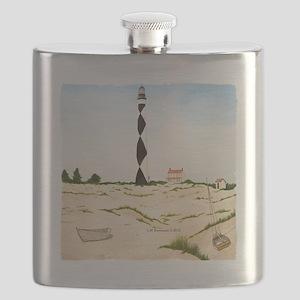 #58 square w edge Flask