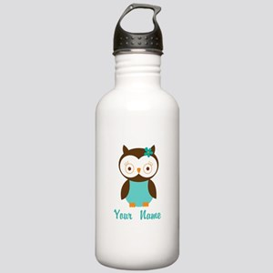 Personalized Owl Stainless Water Bottle 1.0L
