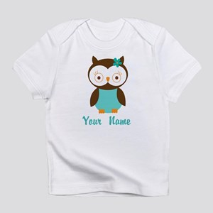Personalized Owl Infant T-Shirt