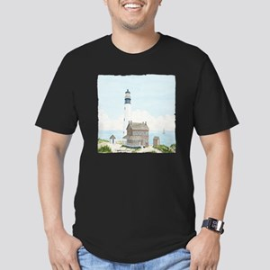 #38 square w edge Men's Fitted T-Shirt (dark)