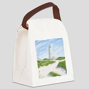 #11 square w edge Canvas Lunch Bag