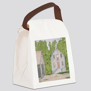 #14 square Canvas Lunch Bag