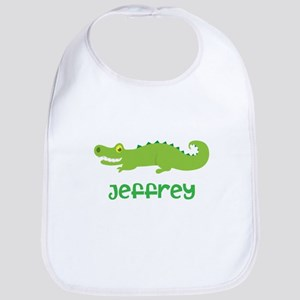 Personalized Crocodile Alligator Bib