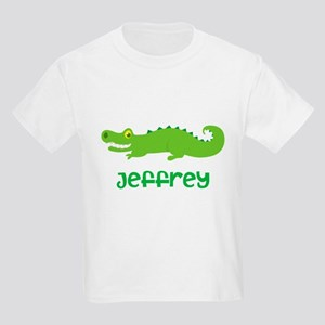 Personalized Crocodile Alligator Kids Light T-Shir