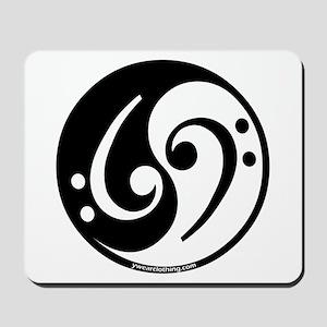 Yin Yang Bass Note Mousepad