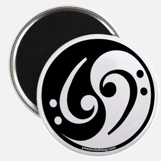 Yin Yang Bass Note Magnet