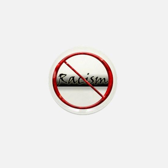 No Racism Mini Button